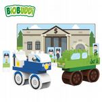 BiOBUDDi - Town Bank - Eco Friendly Block Set - 27 Blocks